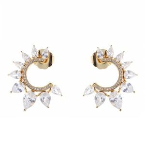 NWT MeMe London Galactic Halo Earrings
